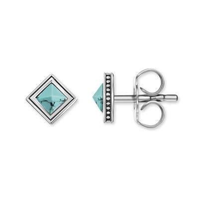 Buy Thomas Sabo Square Turquoise Studs