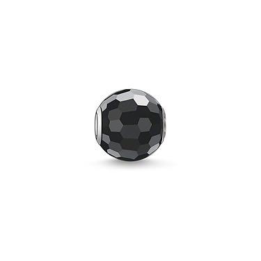 Buy Thomas Sabo Black Faceted Obsidian Karma Bead