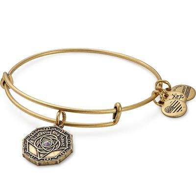 Buy Alex and Ani Bridesmaid Swarovski Bangle in Rafaelian Gold