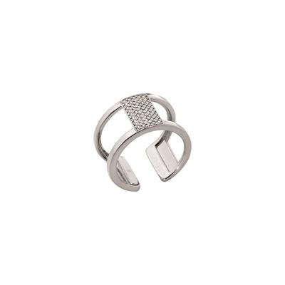 Buy Les Georgettes Silver CZ Barrette Ring 56