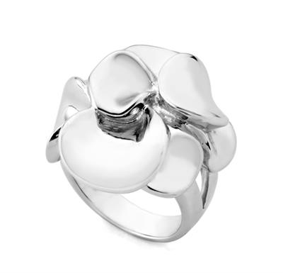 Buy JORGE REVILLA Silver Florida Ring -M