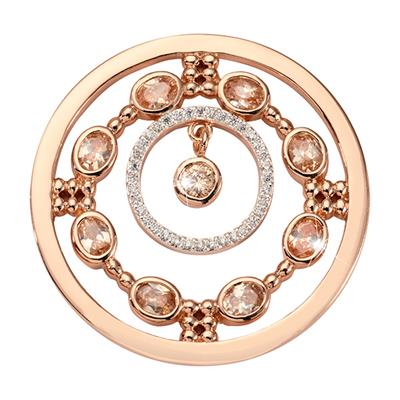 Buy Nikki Lissoni Rose Gold Natural Flair Medium Coin 33mm