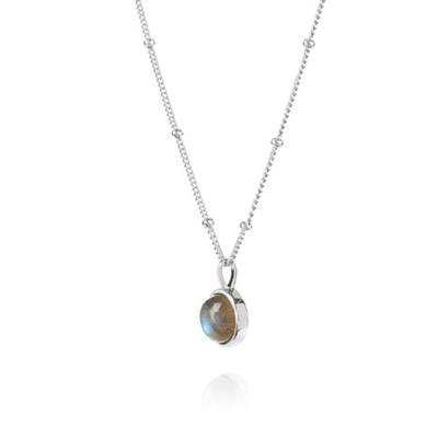 Buy Daisy Labradorite Healing Stone Necklace