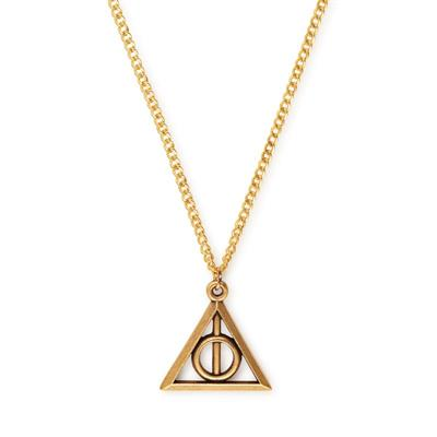 Buy Alex and Ani Harry Potter Deathly Hallows Necklace in Rafaelian Gold