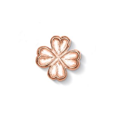 Buy Dower and Hall Rose Gold Four Leaf Clover Treasure