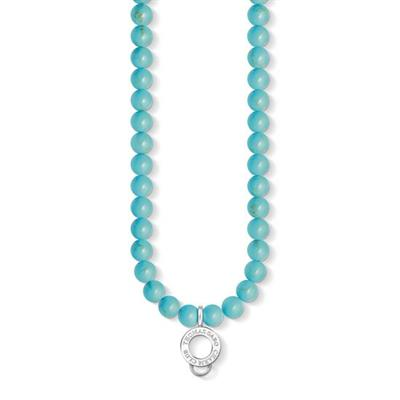 Buy Thomas Sabo Turquoise Charm Carrier Necklace 60cm