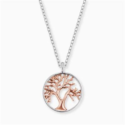 Buy Engelsrufer Rose Gold Tree of Life Necklace