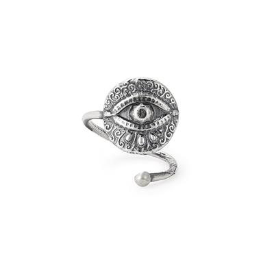 Buy Alex and Ani Evil Eye Precious Wrap Ring in Sterling Silver