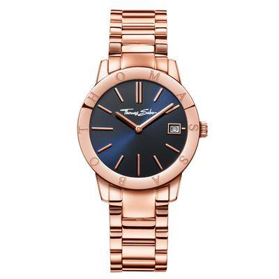 Buy Thomas Sabo Rose Gold Sapphire Blue Dial Ladies Watch