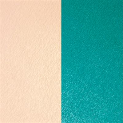 Buy Les Georgettes Nude / Aqua Wide Leather