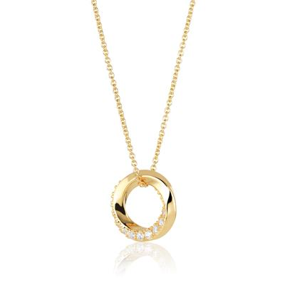 Buy Sif Jakobs Gold Ferrara Necklace with CZ