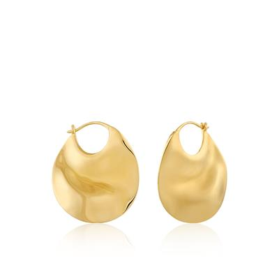 Buy Ania Haie Gold Thick Hoop Earrings