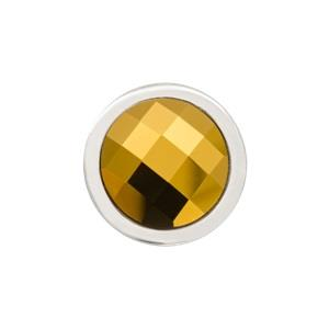 Buy Nikki Lissoni Silver Gold Swarovski Ring Coin