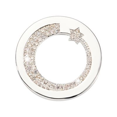 Buy Nikki Lissoni Silver Falling Star Small Coin 23mm