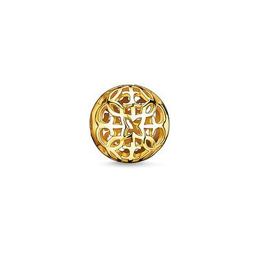 Buy Thomas Sabo Arabesque Yellow Gold Karma Bead