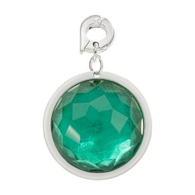 Buy Nikki Lissoni Green Optical Glass Charm