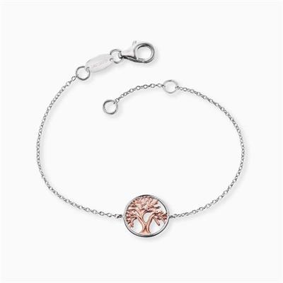 Buy Engelsrufer Rose Gold Tree of Life Bracelet