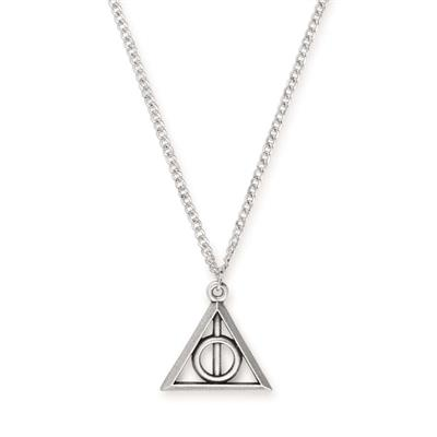 Buy Alex and Ani Harry Potter Deathly Hallows Necklace in Rafaelian Silver