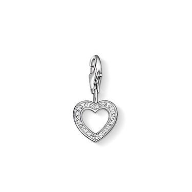 Buy Thomas Sabo Silver and CZ Cut Out Heart