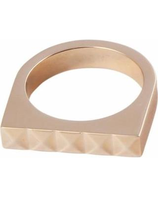 Buy Calvin Klein Rose Gold Edge Ring Size 7