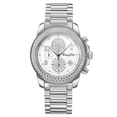Buy Thomas Sabo Silver Glam Chrono Watch