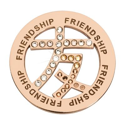 Buy Nikki Lissoni Rose Gold Chinese Friendship Coin 33mm