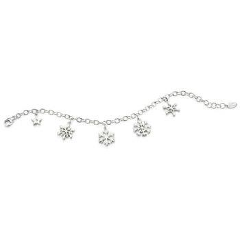Buy DforDiamond D For Diamond Snowflake Charm Bracelet