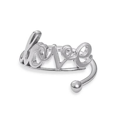 Buy Alex and Ani Love Ring Wrap in Silver