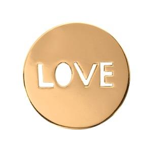Buy Nikki Lissoni Gold Love It Is Small Coin 23mm