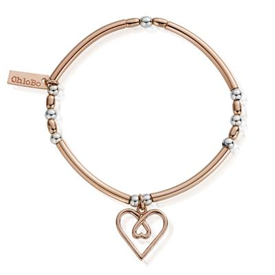 Buy ChloBo Rose Gold Divine Love Bracelet