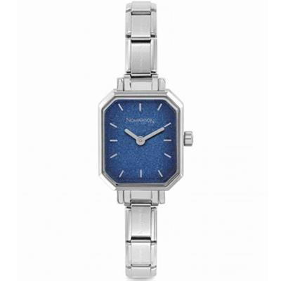 Buy Nomination Stainless Steel Blue Glitter Dial Watch