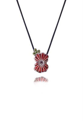 Buy Kleshna Remembrance Poppy Necklace