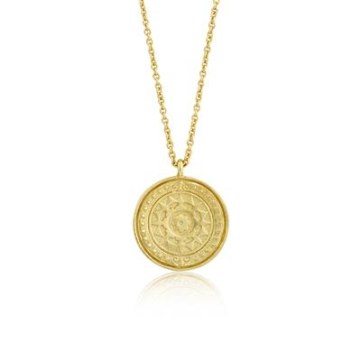 Buy Ania Haie Coins Gold Virginia Sun Necklace
