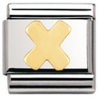 Buy Nomination Gold Letter X