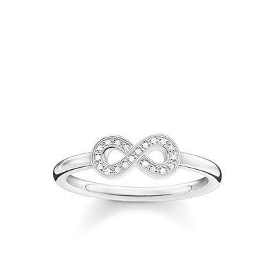Buy Thomas Sabo Diamond Infinity Ring 52