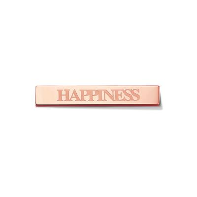 Buy Take What You Need Rose Gold Toned Happiness Bar