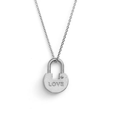 Buy Giving Keys Love Padlock, Long Dainty Silver