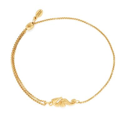 Buy Alex and Ani Seahorse Precious Pull Chain Bracelet in Gold