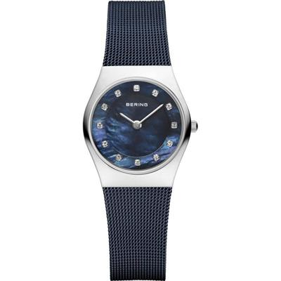 Buy Bering Milanese Blue Mesh Watch
