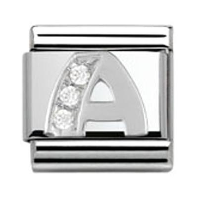Buy Nomination SilverShine Letter A