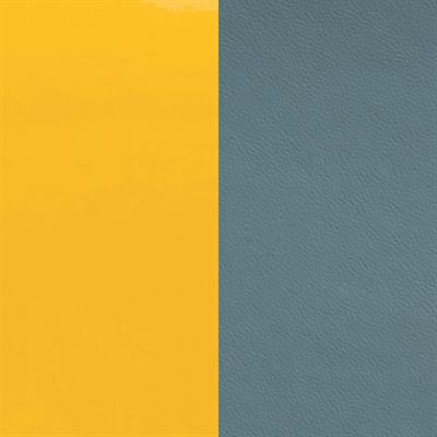 Buy Les Georgettes Slim Teal / Yellow Leather
