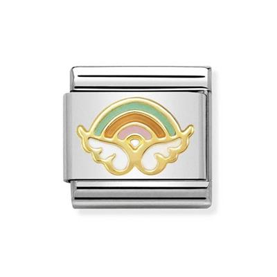 Buy Nomination Gold Rainbow Angel Charm