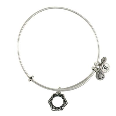 Buy Alex and Ani Queen's Crown in Rafaelian Silver Finish