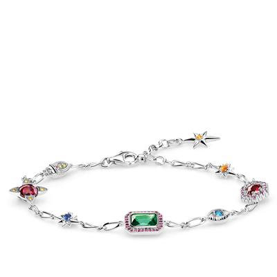 Buy Thomas Sabo Lucky Charms Multiple Silver Bracelet