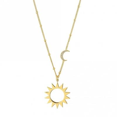 Buy Nomination Antibes Necklace With Moon and Sun