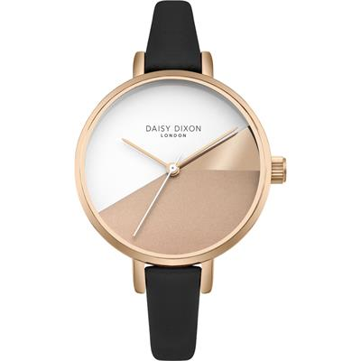 Buy Daisy Dixon Ava Black Leather Watch