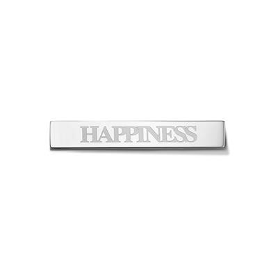 Buy Take What You Need Silver Toned Happiness Bar