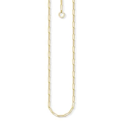 Buy Thomas Sabo Gold Link Charm Necklace 45cm