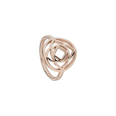Buy Daisy Base Chakra Rose Gold Ring Medium