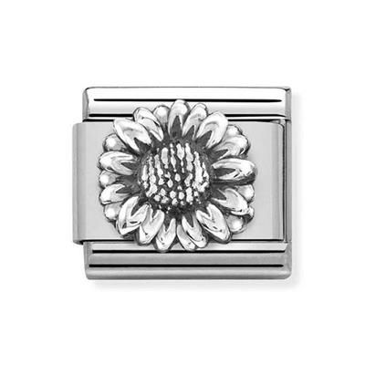 Buy Nomination Silver Sunflower Charm